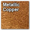 metallic copper color swatch